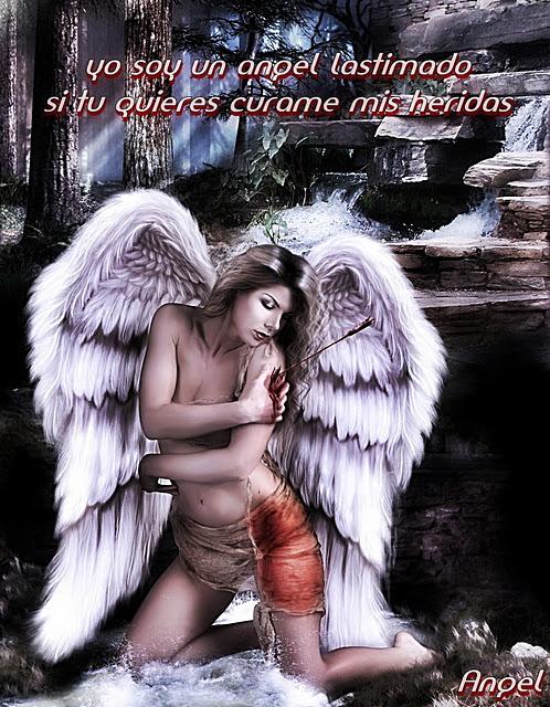 ****Mi Soledad**** Angel+lastimado