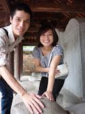 Estelas del templo de la literatura de Hanoi