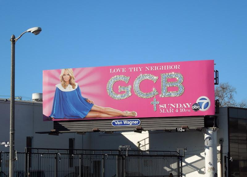 GCB season 1 TV billboard