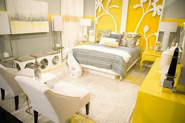 dormitorios amarillos