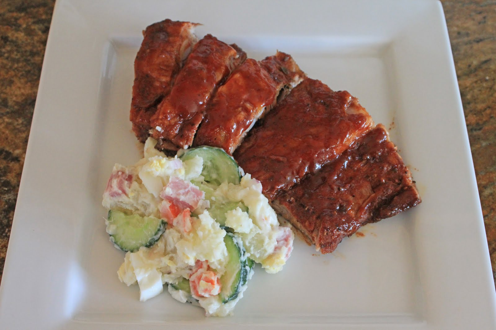 ... : Oven-Roasted Spare Ribs with Southwestern Spice Rub and Beer