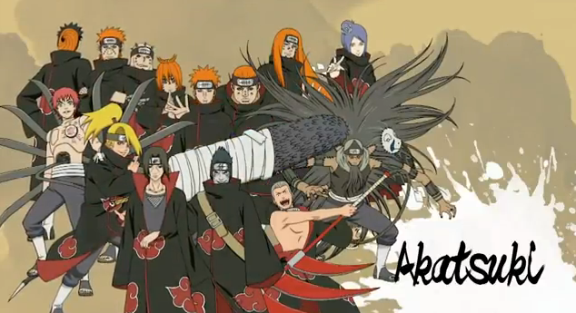 Naruto Shippuden Ultimate Ninja Storm Generations Playable Characters Akatsuki