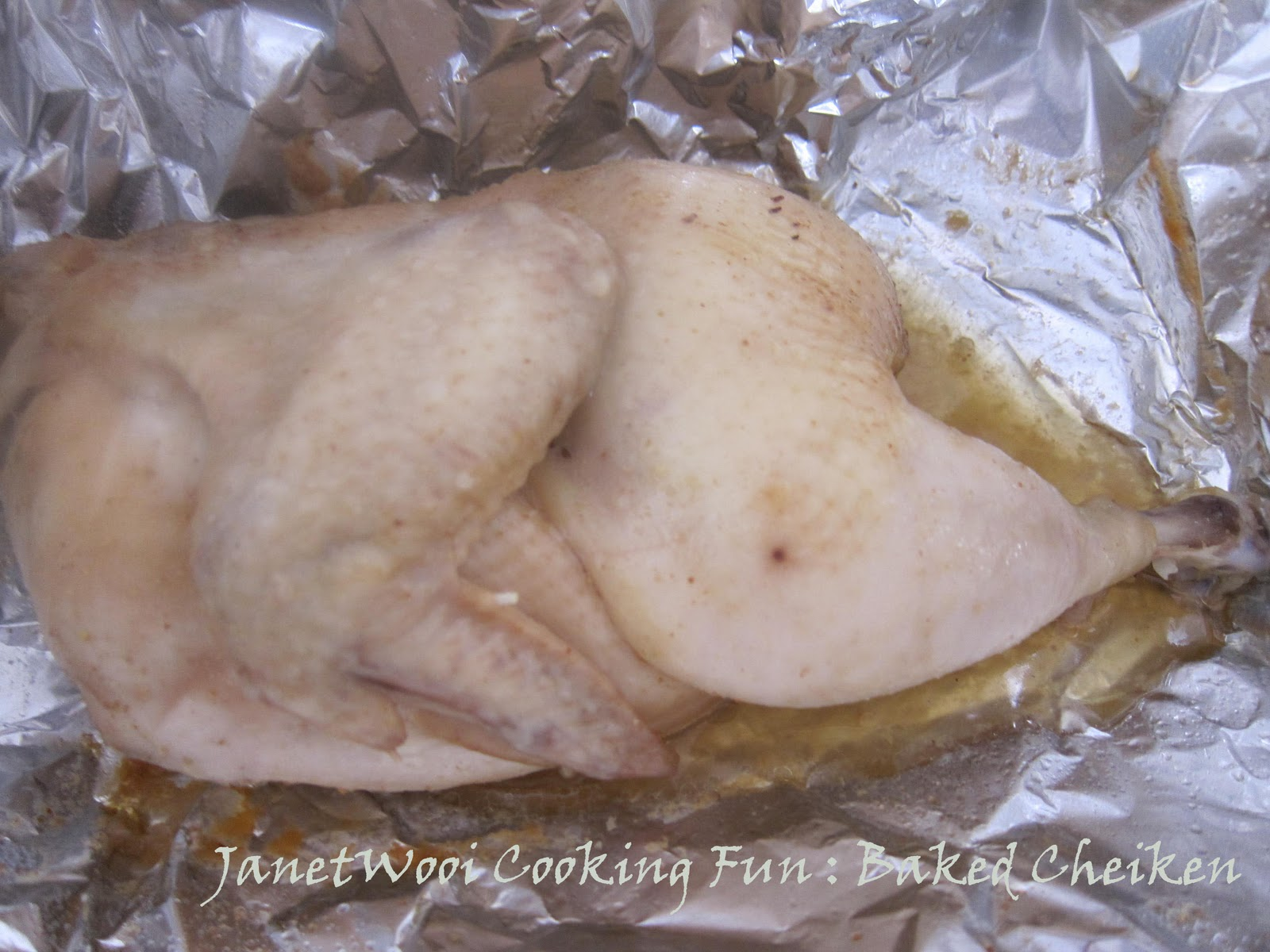 Sharp Healsio Water Oven Cooking Chicken Recipe : Baked Chicken with Sharp Healsio Oven
