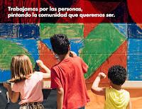 Trabajamos por las personas, pintando la comunidad que queremos ser.