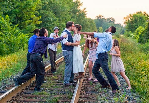 Zombie Engagement Photo Shoot: Zombie of the Week