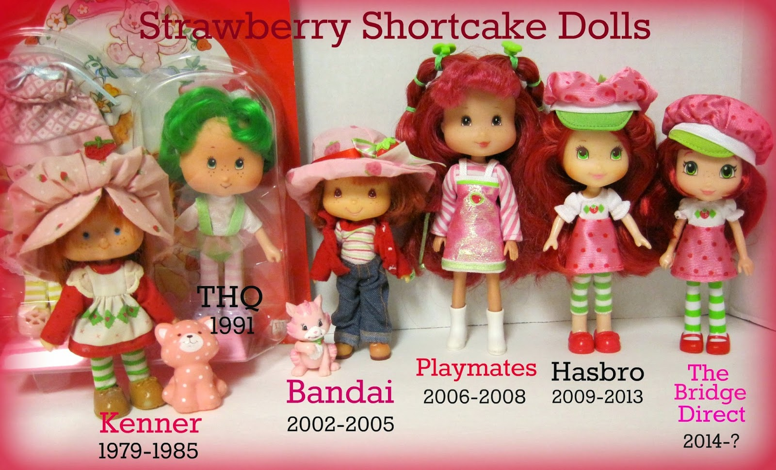 Vintage Girl Toys Strawberry Shortcake Doll Cute Collectible Doll