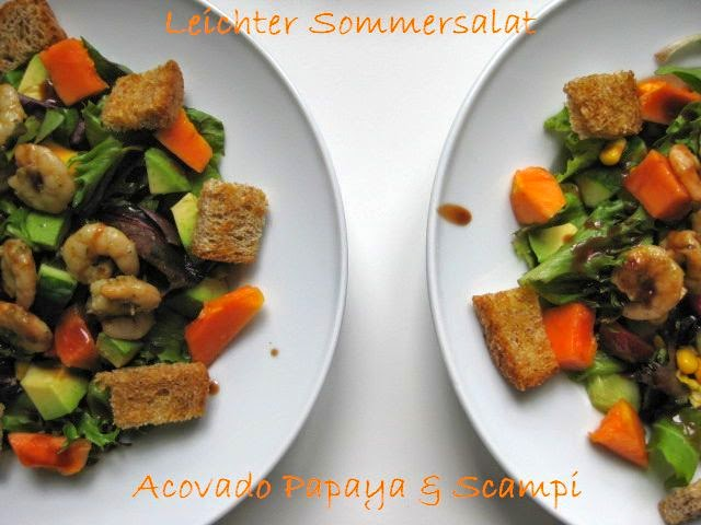 Sommerküche Ohne Kochen : Mit milch und zucker leichte sommerküche part avocado papaya