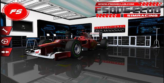 rFactor F1 2012 FSONE CLUB