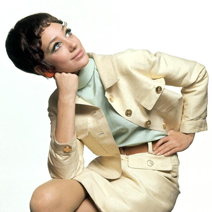 Marisa Berenson by Bert Stern for Vogue US 15 April 1967 via fashioned by love british fashion blog