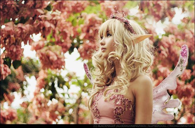 An Elven Fairy's Backyard by Alodia