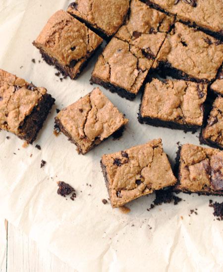 Chocolate Chip Cookie Brownie Bars
