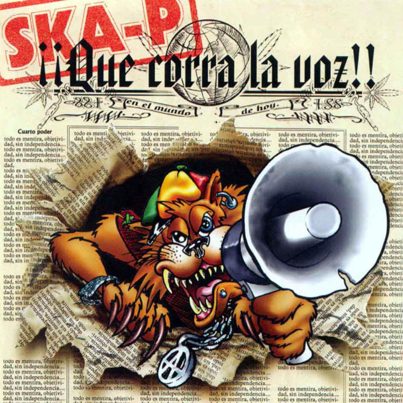 Ska-P – Que corra la voz (2002)