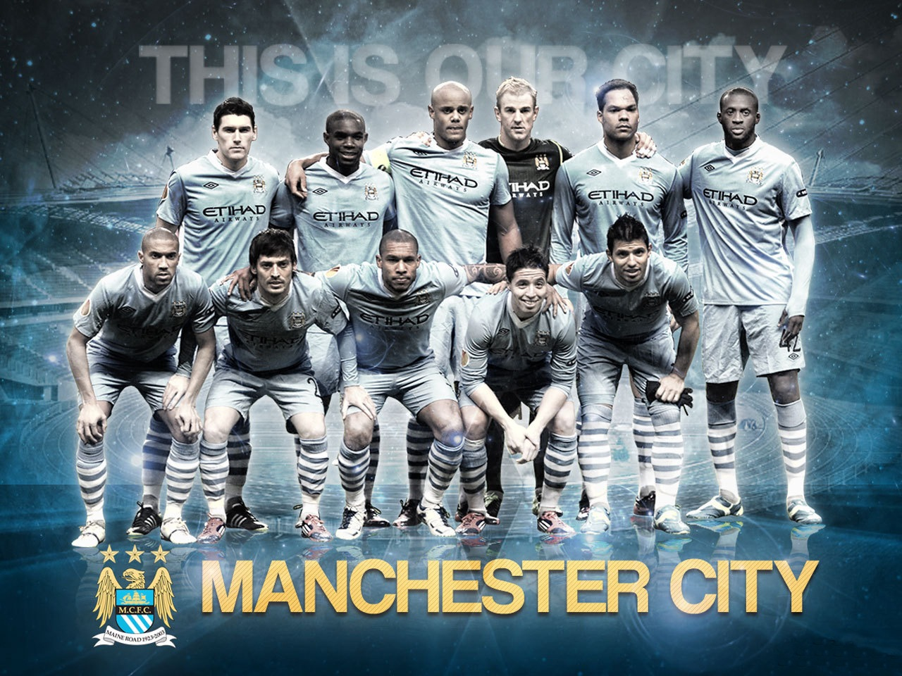 Manchester City Football Club Wallpapers