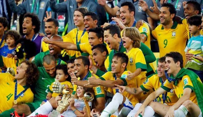 Download Skuad Brasil Pada Piala Dunia 2014