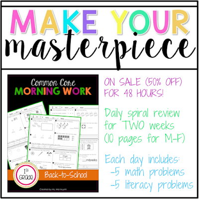 https://www.teacherspayteachers.com/Product/1st-Grade-Common-Core-Morning-Work-Back-to-School-1948684