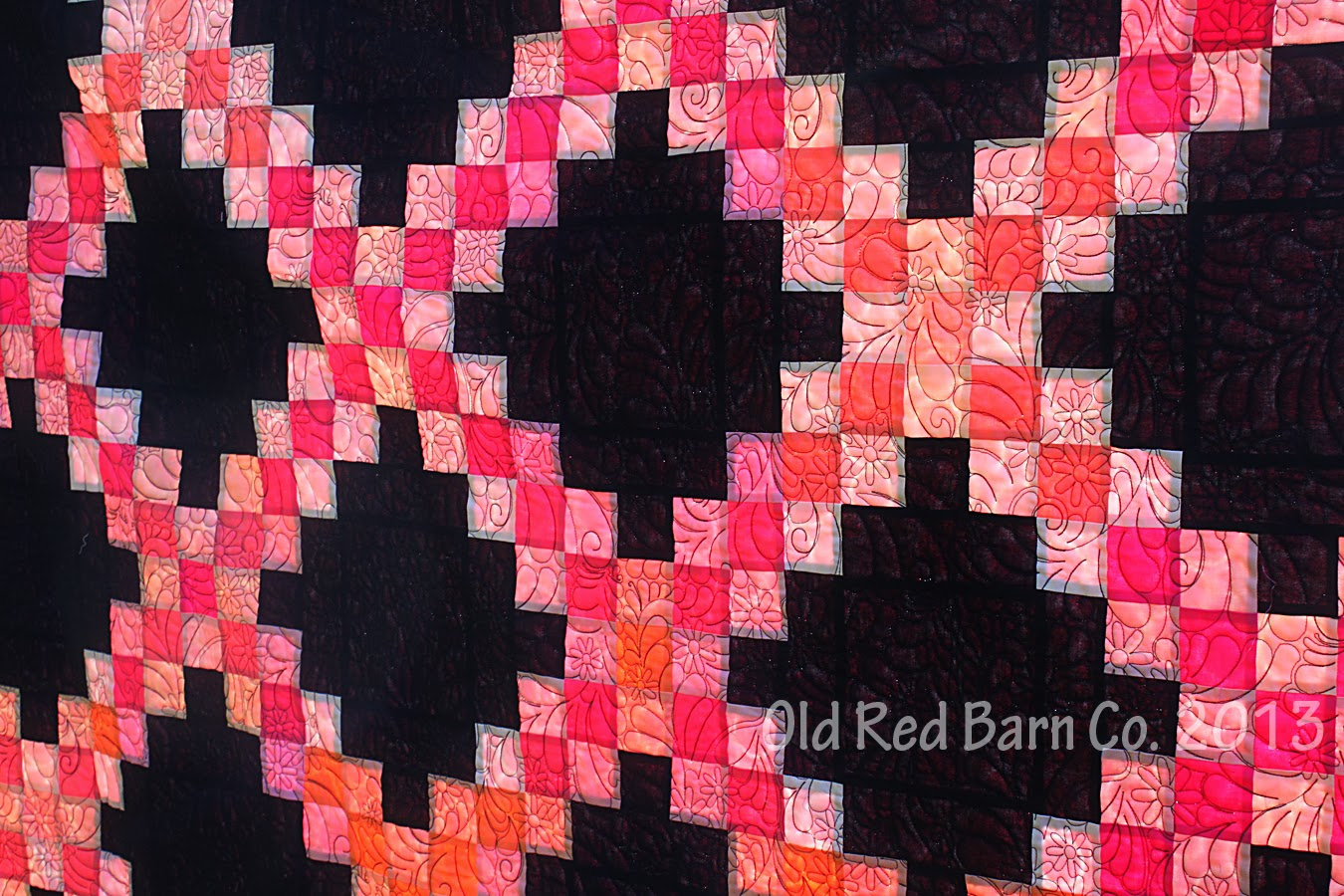 Irish Barn Quilt Patterns : Old Red Barn Co.: A Double Irish Chain Quilt From Fat Quarters - Tutorial & Giveaway