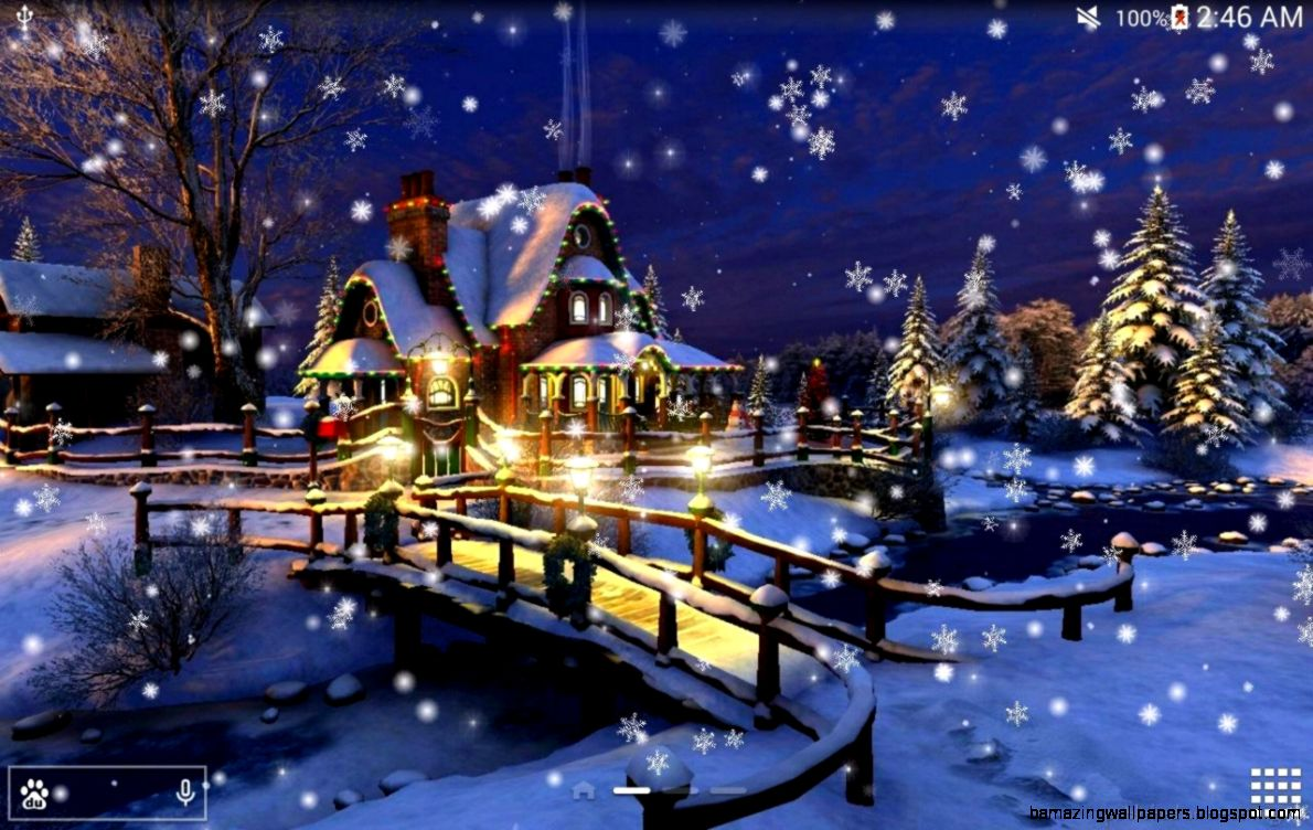 Snow Night City live wallpaper   Android Apps on Google Play