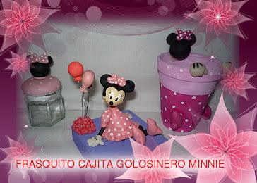 GOLOSINEROS CAJAS Y FRASQUITOS DE MINNIE