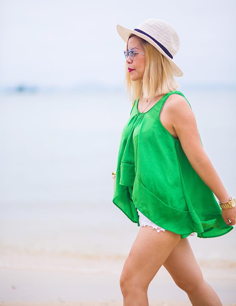 Crystal Phuong in Panwa Beach Phuket, Thailand