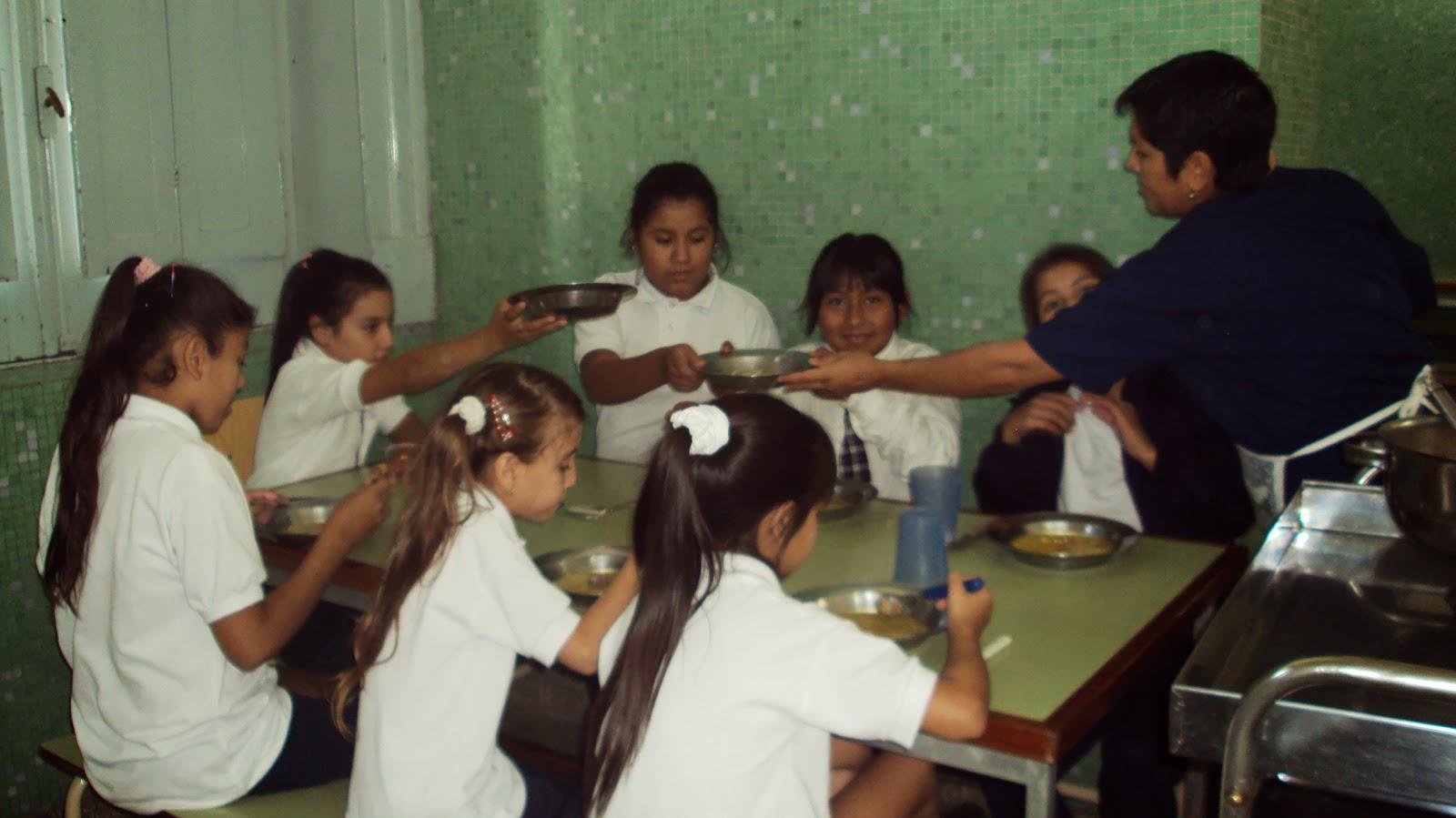 Instituto dr miguel vi as loureyro en el comedor de la for Comedor de escuela