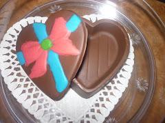 Coklat Bentuk Hati