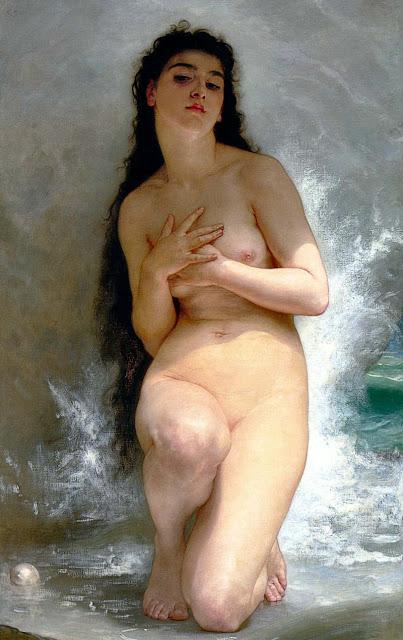the pearl,William Adolphe Bouguereau,Venus