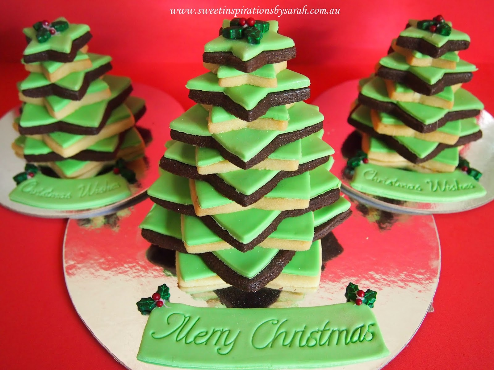 Sweet Inspirations By Sarah Christmas Shortbread Tree