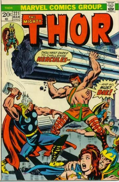 Thor #221, Hercules