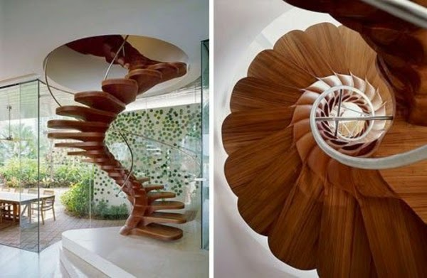 27 Adorable Modern stairs designs as the highlight of your interior