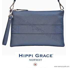 Crown Princess Victoria HIPPI GRACE Clutch Bag and Style MAYLA Dress