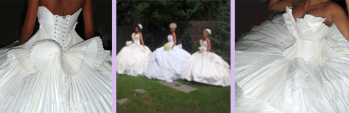 gypsy pleated wedding dresses thelma madine my big fat gypsy wedding