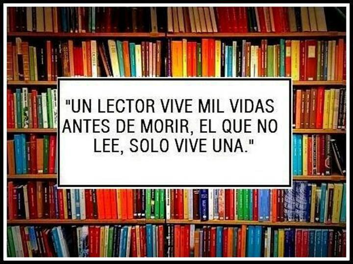 Lee y vivirás más.