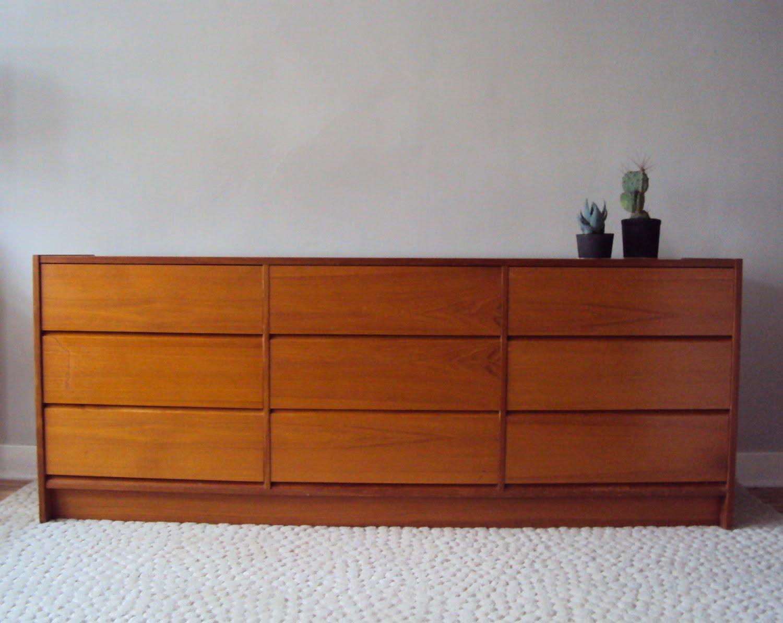 Str mcm danish modern dresser