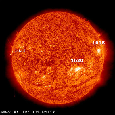MANCHA SOLAR 1620, EL 27 DE NOVIEMBRE 2012