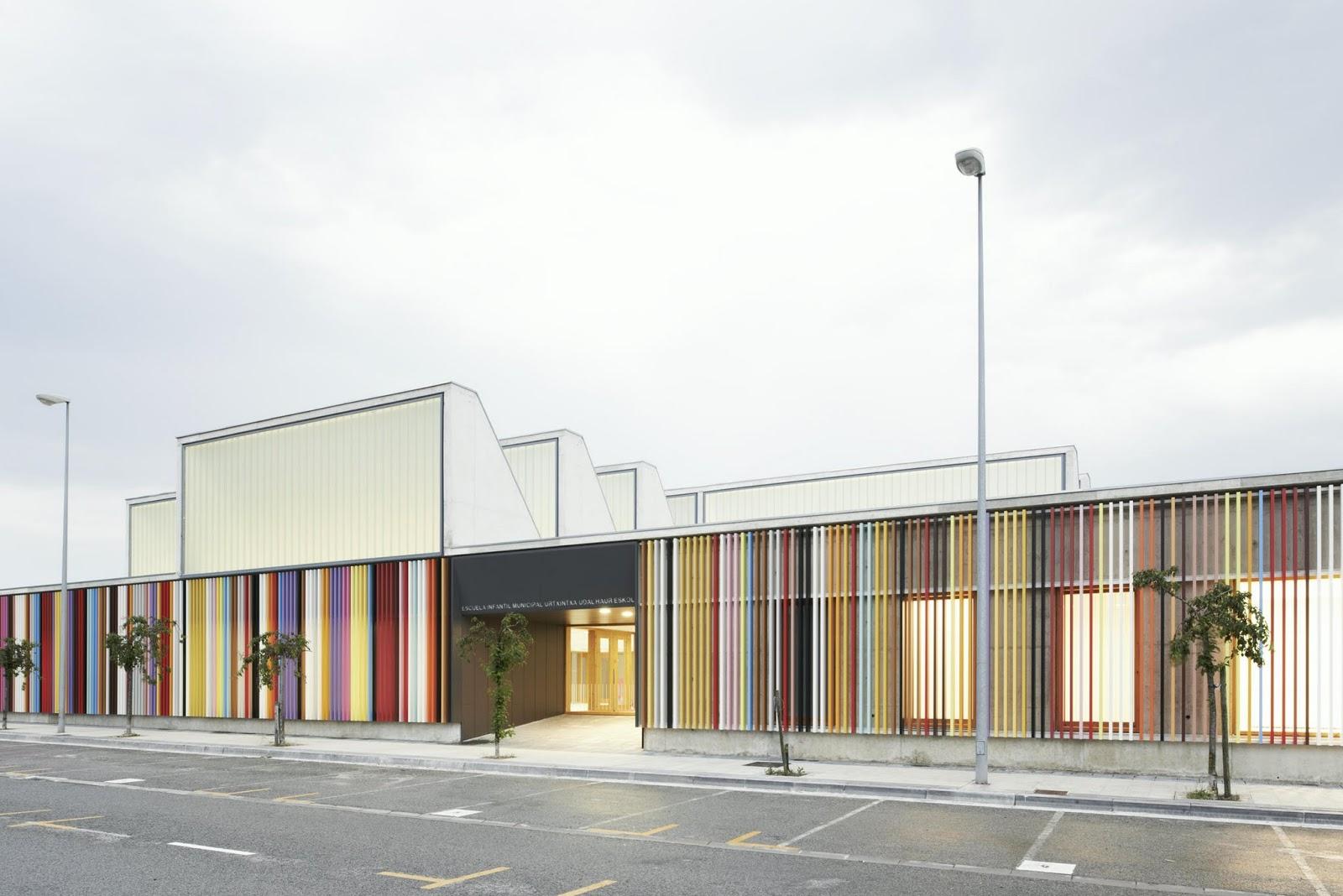 Arquitectura zona cero h gase la luz escuela infantil for Universidades para arquitectura