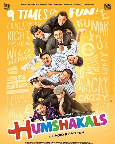 Humshakals (2014) Movie Poster