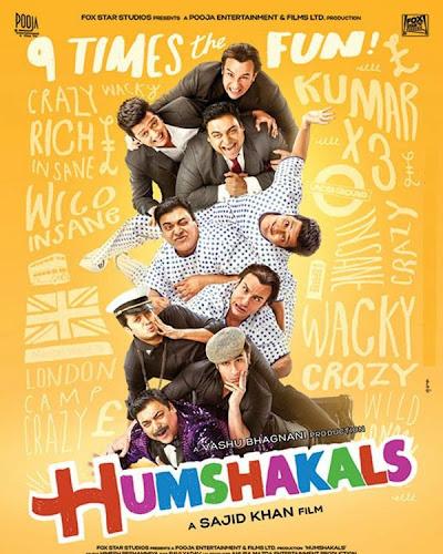 Humshakals Mashup - DJ Kiran Kamath (2014)