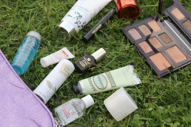 In Flight Beauty Bag Essentials