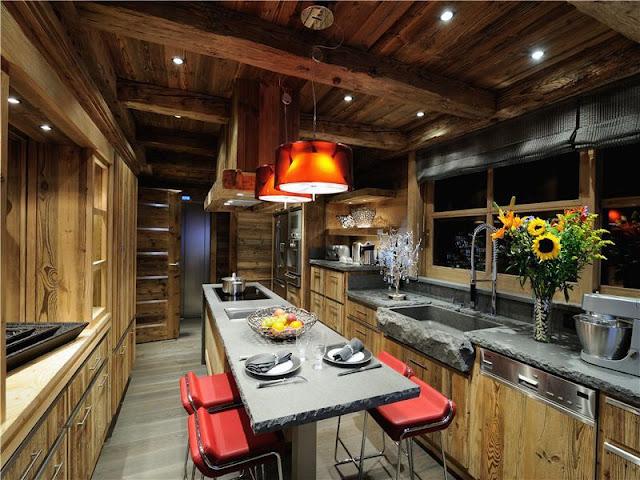 Mansiones y casas de lujo casa de lujo en la nieve de 10 - Casas de madera lujo ...
