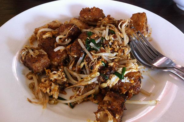 Fried Kueh Kak in Sydney