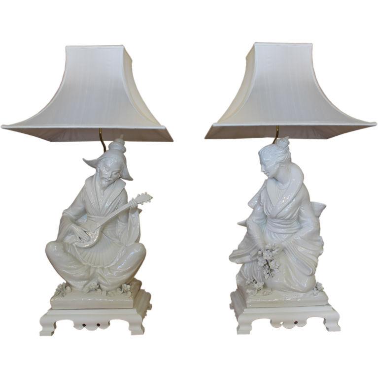 Chinoiserie Lampshades