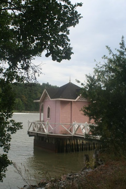 Bathing house in Runsala (Ruissalo)