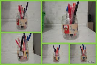 Porta Lápis Personalizado Reciclado