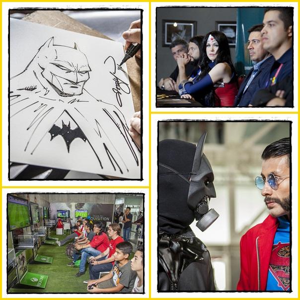 mítico-carro-película-Volver-al-Futuro-Delorean-Time-Machine-Comic-Con-Colombia