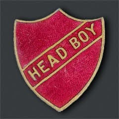 Tal Handaq - Head Boy Badge