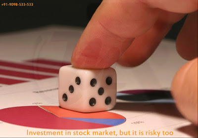 Investment in stock market, but it is risky too