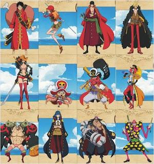 คาแร็คเตอร์ใน One Piece Film Z