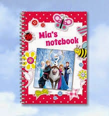 Personalised Disney Frozen Notepad from Buzz Invites