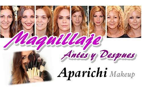 Maquillajes antes y despues by Aparichi : Los milagros del make up en 10 imagenes