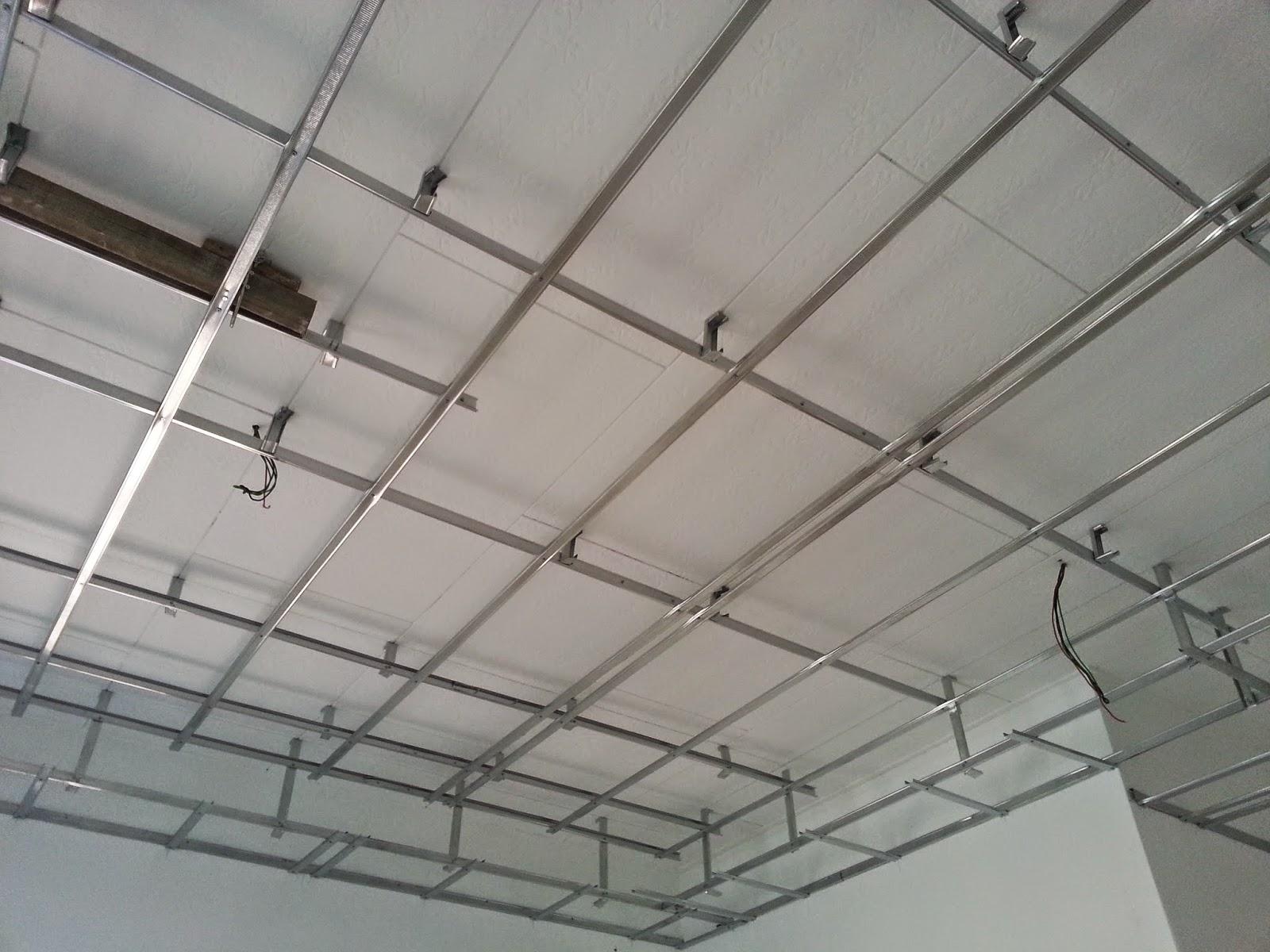 Semasa kerja2 pemasangan plaster ceiling ini, sesekali ambo singgah ...